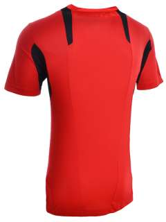 Adidas Mens Clima365 Running Red Short Sleeve T Shirt – ClimaCool
