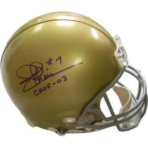 Joe Theismann Autographed/Hand Signed Notre Dame Fighting