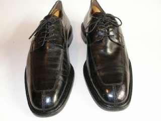 MENS MEZLAN FIORE BLACK OXFORDS SHOES SIZE 11 1/2 M