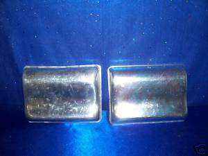 WILTON TWO 1971 SHAPELY CAKE PANS USED BONUS RARE