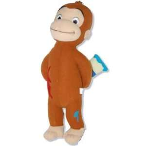 Curious George 12 inch Plush Toy Hiding Paintbrush Behind Back Toys