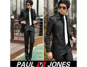 New Mens Slim Fit Sexy Stylish Coat Jackets COOL