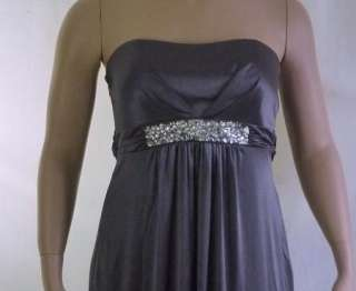 Ruby Rox Formal Gown Prom Cruise Strapless Dress Womens Plus Size 1X $