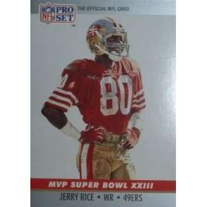 23 Jerry Rice San Francisco 49ers (Football Ca
