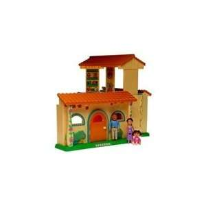 Dora Explorer Doras Talking Dollhouse w/Lights, Sounds