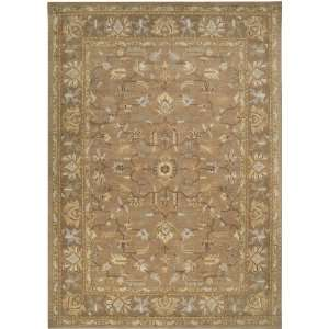 Clifton Collection Clifton CLF1002 Brown Floral Area Rug 2