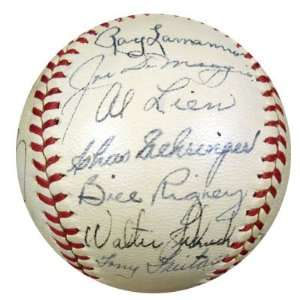 Autographed Joe DiMaggio Baseball   San Francisco Seals vs