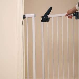 Pet Studio Pressure Mounted Metal Extra Tall Latch Gate