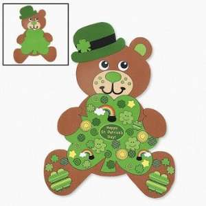 12 Design Your Own Giant Irish Teddy Bear Shaped Sticker
