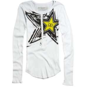 Fox Racing Womens Rockstar Henley Long Sleeve Shirt