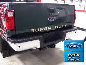 Ford F450 Super Duty Tailgate Letters Inserts Stickers