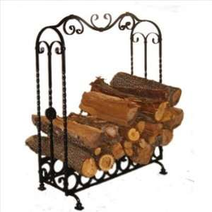 Pioche Large Wrought Iron Indoor Log Holder