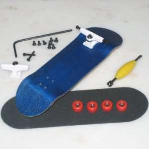 Peoples Republic Complete Wooden Fingerboard   Blue Toys & Games
