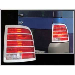 2002 2010 Ford Explorer 2pc Chrome Tail Light Covers