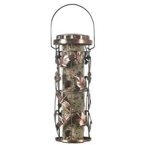 Perky Pet Copper Garden Seed Bird Feeder, 6 Feeding Ports