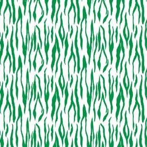 TIGER STRIPE WHITE & GREEN PATTERN Vinyl Decal Sheets 12