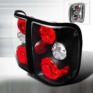 01 03 FORD RANGER XL XLT EDGE/TREMOR BLACK TAIL LIGHTS