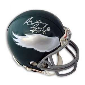 Fred Barnett Autographed Philadelphia Eagles Mini Helmet Signed
