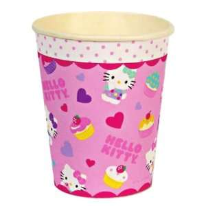 Meri Meri Hello Kitty Paper Cups, 12 Pack Kitchen
