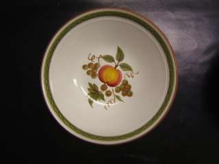 Stangl Apple Delight Hand Painted Bowl 8 3/4 Diameter