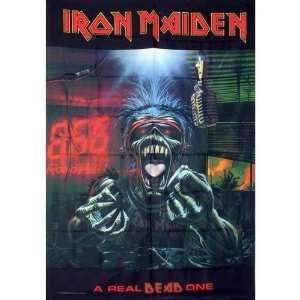 Iron Maiden Dead One Fabric Tapestry Wall Hanging