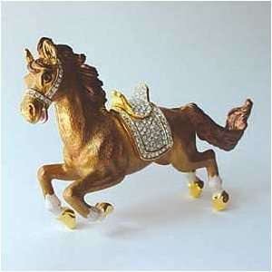 Galloping Horse Jewelry Box