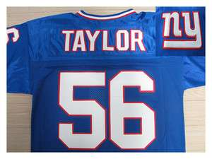 New York Giants Lawrence Taylor #56 Jersey(Any Size)