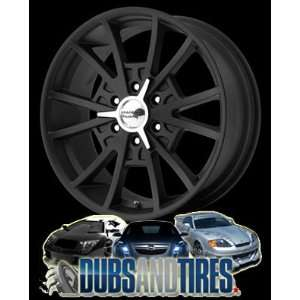 American Racing wheels wheels EL REY Satin Black Machined wheels rims