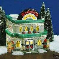 Department 56 Snow Village ROCKABILLY RECORDS NEW
