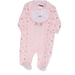 Newborn Infant Baby Girls Pink Layette Set Girl 3M 9M n/a Baby