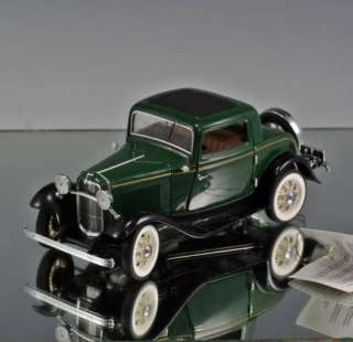 Franklin Mint Die cast car 1932 Ford V 8 Deuce Coupe LE 53/9500