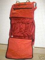 Grooming Carrier Horse Trailer Travel Tack Rack Room Bag Red Tote