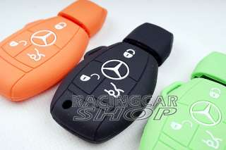 SL SLK Series Mercedes Benz key Remote Soft SILICONE PROTECTIVE FULL
