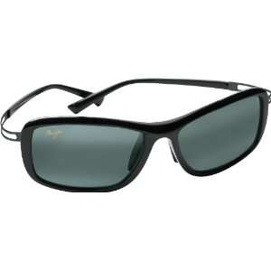 Maui Jim Kihei 211 Sunglasses, Black / Grey Lens