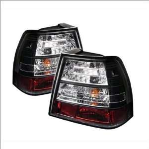 LED Euro / Altezza Tail Lights 99 04 Volkswagen Jetta Automotive