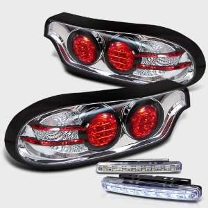 Eautolight 93 01 Mazda Rx7 LED Tail Lights + LED Bumper Fog Lamp Brand