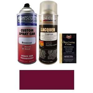 12.5 Oz. Dark Red Mica Pearl Spray Can Paint Kit for 2001