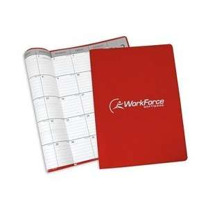 Desk Planner with Vinyl Cover Monthly Early Bird