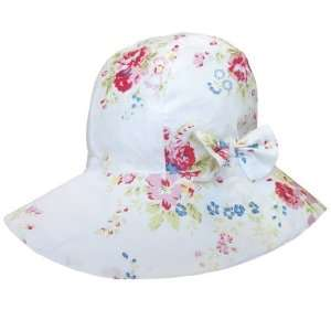 mixed Floral Print Girls Sun Summer Hat   Size 3 5 years a Baby