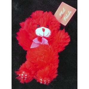 Small Red Teddy Bear for Valentines Day Toys & Games