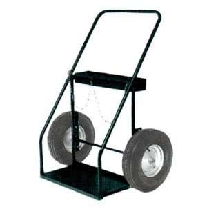 Inch High by 35 Inch Wide Continuous Handle Hand Truck with 16 Inch