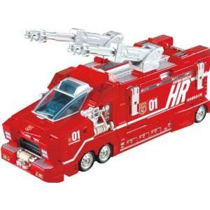 Tomicar Hyper Rescue Fire Truck Toys & Games