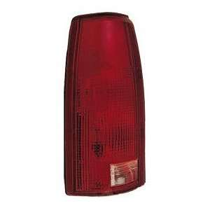 99 00 CADILLAC ESCALADE Left Tail Light (CONNECTOR PLATE W