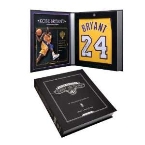 Kobe Bryant Autographed Los Angeles Lakers Home/Gold