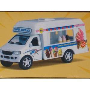 Kinsfun Pull Back Ice Cream Truck Toys & Games