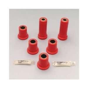 Bushings   Front   Upper   Lower   Polyurethane   Red   Ford   Lincoln
