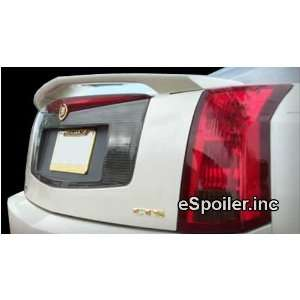 08 Cadillac CTS Primer OEM Factory Style Spoiler   PRIMER