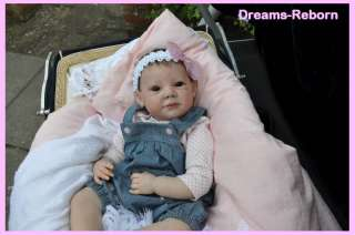 Beautiful realistic reborn big baby girl doll from **Dreams Reborn