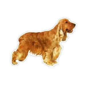 ENGLISH COCKER SPANIEL   Dog Decal   sticker car got