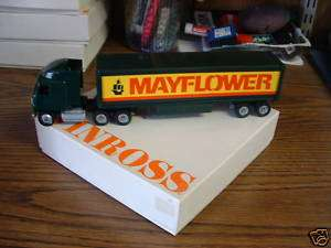 WINROSS 1/64 TRACTOR TRAILER MAYFLOWER MOVING COLLECTABLE TRUCK